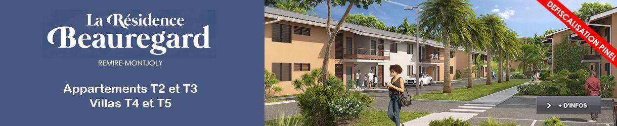 residence beauregard defiscalisation pinel remire montjoly