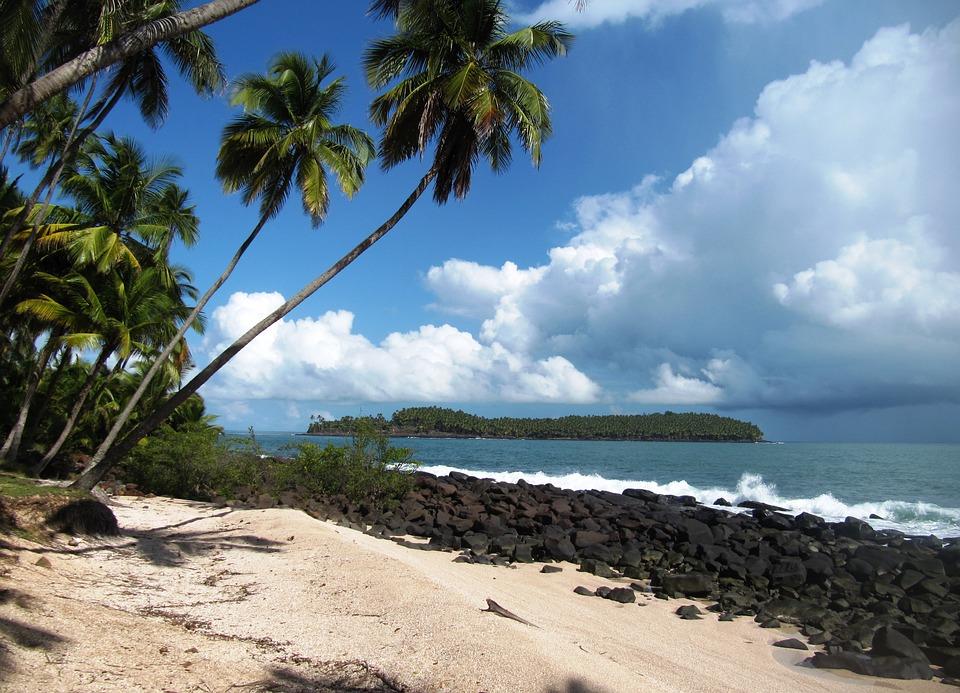 Route des plages Remire Montjoly